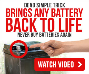 How to fix a dead Battery, Bring any Battery back to life, never buy Batteries again.